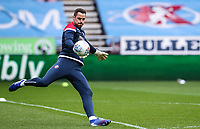 Bolton Wanderers' Remi Matthews warming up before the match  <br /> <br /> Photographer Andrew Kearns/CameraSport<br /> <br /> The EFL Sky Bet Championship - Wigan Athletic v Bolton Wanderers - Saturday 16th March 2019 - DW Stadium - Wigan<br /> <br /> World Copyright &copy; 2019 CameraSport. All rights reserved. 43 Linden Ave. Countesthorpe. Leicester. England. LE8 5PG - Tel: +44 (0) 116 277 4147 - admin@camerasport.com - www.camerasport.com