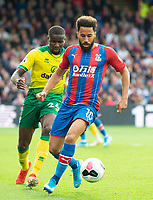 Crystal Palace Andros Townsend during the Premier League match between Crystal Palace and Norwich City at Selhurst Park, London, England on 28 September 2019. Photo by Andrew Aleksiejczuk / PRiME Media Images.