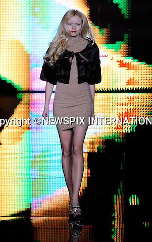 "SEDUZIONI DIAMONDS by Valeria Marini.Autumn 2010/2011 Collection, Milan Fashion Show, Milano_25/02/2010.Mandatory Credit Photo: ©NEWSPIX INTERNATIONAL..**ALL FEES PAYABLE TO: ""NEWSPIX INTERNATIONAL""**..IMMEDIATE CONFIRMATION OF USAGE REQUIRED:.Newspix International, 31 Chinnery Hill, Bishop's Stortford, ENGLAND CM23 3PS.Tel:+441279 324672  ; Fax: +441279656877.Mobile:  07775681153.e-mail: info@newspixinternational.co.uk"
