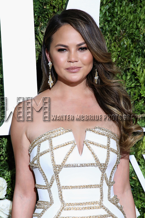 NEW YORK, NY - JUNE 11:  Chrissy Teigen attends the 71st Annual Tony Awards at Radio City Music Hall on June 11, 2017 in New York City.  (Photo by Walter McBride/WireImage)