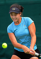 Tamara Anderson. 2017 Wellington Open tennis championship at Renouf Tennis Centre in Wellington, New Zealand on Tuesday, 19 December 2017. Photo: Dave Lintott / lintottphoto.co.nz