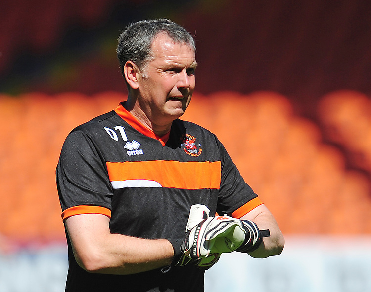 Blackpool Goalkeeper Coach Dave Timmins<br /> <br /> Photographer Kevin Barnes/CameraSport<br /> <br /> Football - The EFL Sky Bet League Two - Blackpool v Exeter City - Saturday 6th August 2016 - Bloomfield Road - Blackpool<br /> <br /> World Copyright © 2016 CameraSport. All rights reserved. 43 Linden Ave. Countesthorpe. Leicester. England. LE8 5PG - Tel: +44 (0) 116 277 4147 - admin@camerasport.com - www.camerasport.com