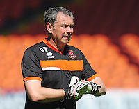 Blackpool Goalkeeper Coach Dave Timmins<br /> <br /> Photographer Kevin Barnes/CameraSport<br /> <br /> Football - The EFL Sky Bet League Two - Blackpool v Exeter City - Saturday 6th August 2016 - Bloomfield Road - Blackpool<br /> <br /> World Copyright &copy; 2016 CameraSport. All rights reserved. 43 Linden Ave. Countesthorpe. Leicester. England. LE8 5PG - Tel: +44 (0) 116 277 4147 - admin@camerasport.com - www.camerasport.com