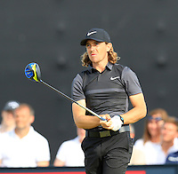 Tommy Fleetwood (ENG) tees off the 15th tee during Thursday's Round 1 of the 145th Open Championship held at Royal Troon Golf Club, Troon, Ayreshire, Scotland. 14th July 2016.<br /> Picture: Eoin Clarke | Golffile<br /> <br /> <br /> All photos usage must carry mandatory copyright credit (&copy; Golffile | Eoin Clarke)