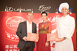Paul Scholes and Charmaine Sheh during the Red Carpet event at the World Celebrity Pro-Am 2016 Mission Hills China Golf Tournament on 20 October 2016, in Haikou, China. Photo by Weixiang Lim / Power Sport Images