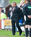 ::  HAMILTON MANAGER BILLY REID AT THE END OF THE GAME  ::