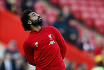 Mohamed Salah of Liverpool during the Premier League match at Anfield, Liverpool. Picture date: 30th November 2019. Picture credit should read: Simon Bellis/Sportimage