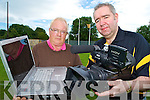 John Keogh, PRO Dr Crokes pictured with John C O'Shea who is to receive the McNamee Award for the use of modern technology and innovation in promoting the GAA.