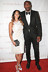 Amar'e Stoudemire and his wife Alexis Welch, arrive at the Gordon Parks Foundation 2014 Award Dinner and Auction on June 3, 2014 at Cipriani Wall Street, located on 55 Wall Street.