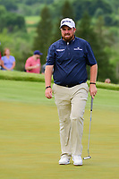 Shane Lowry (IRL) prepares to putt on 6 during Saturday's round 3 of the 117th U.S. Open, at Erin Hills, Erin, Wisconsin. 6/17/2017.<br /> Picture: Golffile | Ken Murray<br /> <br /> <br /> All photo usage must carry mandatory copyright credit (&copy; Golffile | Ken Murray)