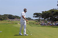 Ian Poulter (ENG) prepares to tee off the 1st tee to start his match Sunday's Final Round of the 94th PGA Golf Championship at The Ocean Course, Kiawah Island, South Carolina, USA 11th August 2012 (Photo Eoin Clarke/www.golffile.ie)