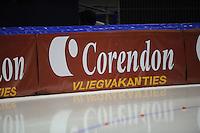 SCHAATSEN: HEERENVEEN: IJsstadion Thialf, 11-11-2012, KPN NK afstanden, Seizoen 2012-2013, boarding Corendon, ©foto Martin de Jong