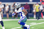 Dallas Cowboys running back Gus Johnson (37) in action during the pre-season game between the Houston Texans and the Dallas Cowboys at the AT & T stadium in Arlington, Texas.