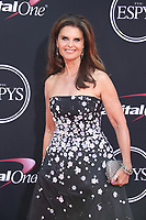 LOS ANGELES, CA - JULY 12: Maria Shriver at The 25th ESPYS at the Microsoft Theatre in Los Angeles, California on July 12, 2017. Credit: Faye Sadou/MediaPunch