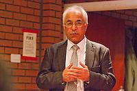 Harsev Bains Association Of Indian Communists uses the occassion of Kim Il-sung's birth Commemoration to welcome Mr. Hyon Hak Bong Ambassador to UK of the DPR Korea whilst commenting on the current Korean crisis Saklatvala Hall Southall 14th April 2013.