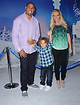 Hollywood, CA - NOVEMBER 19: Hank Baskett IV, Hank Baskett, Kendra Wilkinson arrives at The Disney FROZEN Premiere held at The El Capitan Theatre in Hollywood, California on November 19,2012                                                                               © 2013 Hollywood Press Agency