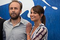 Derek Cianfrance &amp; Alicia Vikander  at the photocall for The Light Between Oceans at the 2016 Venice Film Festival.<br /> September 1, 2016  Venice, Italy<br /> Picture: Kristina Afanasyeva / Featureflash