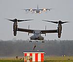 USAF Osprey aircraft