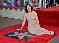 LOS ANGELES, CA. March 25, 2019: Mandy Moore at the Hollywood Walk of Fame Star Ceremony honoring actress & singer Mandy Moore.<br /> Pictures: Paul Smith/Featureflash