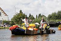 Nederland  Schipluiden 2016. Molen de Korpershoek. Het Varend Corso.   Foto Berlinda van Dam / Hollandse Hoogte