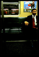 Commuter, New York Subway...New York City.  Street PhotographyNew York City, New York.  Street Photography from Manhattan and Brooklyn.  Subway, Union Square, Metro Stations, New York City Skyline, Michael Rubenstein, Matt Nager, Jacob Pritchard.