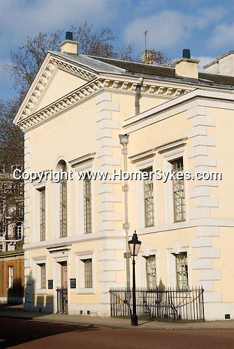 The Queens Chapel Malborough Road London SW1. UK