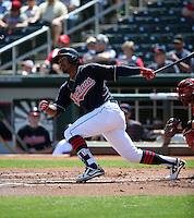 Francisco Lindor - Cleveland Indians 2016 spring training (Bill Mitchell)