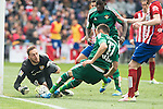 Atletico de Madrid's Jan Oblak and Real Betis's Westermann and Musonda Jr. during BBVA La Liga match. April 02,2016. (ALTERPHOTOS/Borja B.Hojas)