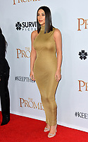 Kim Kardashian West at the premiere for &quot;The Promise&quot; at the TCL Chinese Theatre, Hollywood. Los Angeles, USA 12 April  2017<br /> Picture: Paul Smith/Featureflash/SilverHub 0208 004 5359 sales@silverhubmedia.com