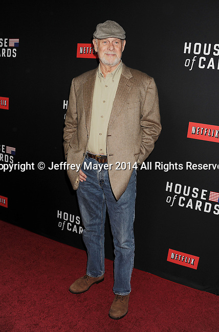 LOS ANGELES, CA- FEBRUARY 13: Actor Gerald McRaney arrives at the 'House Of Cards' Season 2 special screening at Directors Guild Of America on February 13, 2014 in Los Angeles, California.