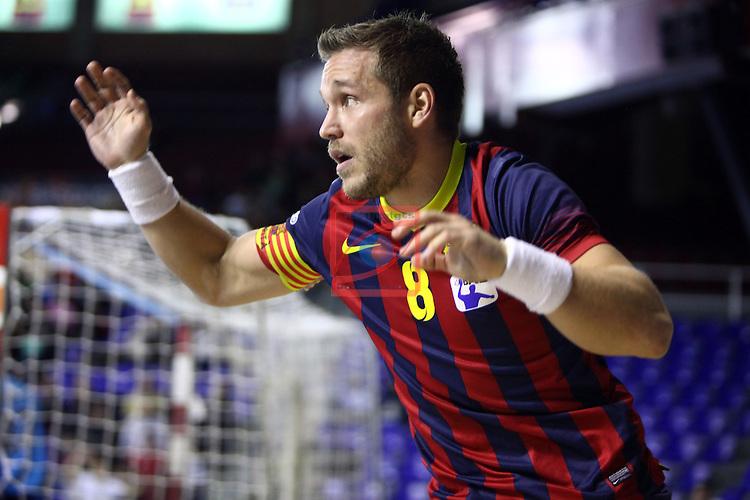 XXIV Copa ASOBAL - Game: 2<br /> FC Barcelona vs BM Huesca: 39-25.<br /> Victor Tomas.