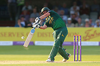 Steven Mullaney hits six runs for Notts during Essex Eagles vs Notts Outlaws, Royal London One-Day Cup Semi-Final Cricket at The Cloudfm County Ground on 16th June 2017
