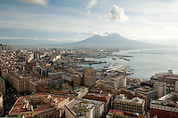 Naples and Mount Vesuvius, Italy