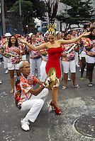 RIO DE JANEIRO-RJ DIA 29 DE JANEIRO DE 2012<br /> Na noite de domingo ensaio t&eacute;cnico da escola de samba unidos do viradouro, situado no samb&oacute;dromo no centro do Rio de janeiro<br /> Rainha de bateria<br /> Monique Alfradique