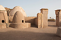 Morocco - Ouarzazate - The reproduction of an Afghan village at the Atlas Corporation Studios.