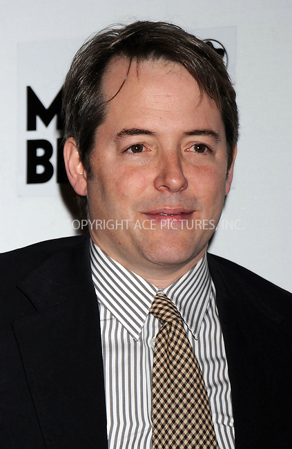 WWW.ACEPIXS.COM . . . . .....April 29, 2008. New York City.....Actor Matthew Broderick attends the 7th Annual Tribeca Film Festival 'Finding Amanda' premiere at the Borough of Manhattan Community College / Tribeca Performing Arts Center...  ....Please byline: Kristin Callahan - ACEPIXS.COM..... *** ***..Ace Pictures, Inc:  ..Philip Vaughan (646) 769 0430..e-mail: info@acepixs.com..web: http://www.acepixs.com