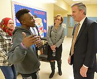 Hal Heiner visits Academy @ Shawnee