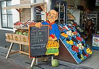 Middelburg- Groente en fruit te koop in het centrum van Middelburg