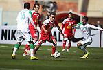 Tractorsazi Tabriz vs Al Ahli during the 2015 AFC Champions League Group D match on April 07, 2015 at the Yadegar Emam Stadium in Tabriz, Iran. Photo by Adnan Hajj / World Sport Group
