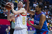 7th September 2017, Fenerbahce Arena, Istanbul, Turkey; FIBA Eurobasket Group D; Russia versus Great Britain; Shooting Guard Vitaly Fridzon #7 of Russia in action under the basket during the match