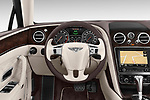 Car pictures of steering wheel view of a 2016 Bentley Continental   Flying Spur 4 Door Sedan