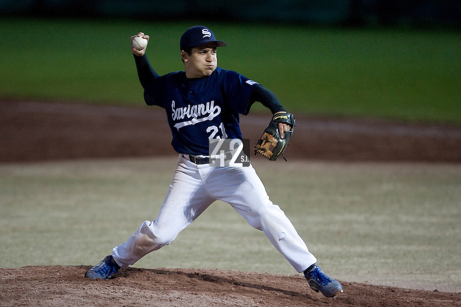 BASEBALL - ELITE - CLERMONT-FERRAND (FRANCE) - STADE DES CEZEAUX - 02/05/2008 - UNIDENTIFIED PLAYER