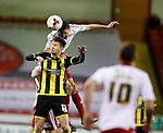 Chris Basham of Sheffield Utd tussles with Calum Butcher of Burton Albion - English League One - Sheffield Utd vs Burton Albion - Bramall Lane Stadium - Sheffield - England - 1st March 2016 - Pic Simon Bellis/Sportimage