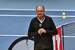 04.01.2018, Estrel Congress Center, Berlin, GER,  Internationaler DTB Tenniskongress 2019 <br /> <br /> im Bild Hans-Peter Born begruesst die Teilnehmer<br /> <br /> Foto &copy; nordphoto/Mauelshagen