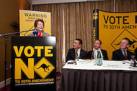 NO REPRO FEE. VOTE NO TO THE 30TH AMENDMENT. Mary O'Rourke, former TD, Senator and Oireachtas Committee Chair is pictured at the Official launch of the 'NO' Campaign at the The Westbury Hotel, Dubliin. Picture James Horan/Collins.