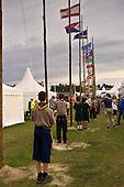 Fla Ceromony at the World Scout Jamboree