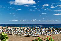 Spanien, Kanarische Inseln, Lanzarote, Puerto del Carmen: Strand | Spain, Canary Island, Lanzarote, Puerto del Carmen: beach