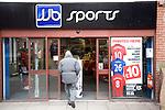 JJB sports shop, Colchester, Essex