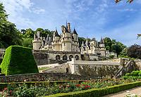 France, Indre-et-Loire, Rigny-Ussé, château d'Ussé, au printemps