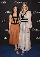 "HOLLYWOOD, CA - MARCH 25:  Camila Mendes and Lili Reinhart at PaleyFest 2018 - ""Riverdale"" at the Dolby Theatre on March 25, 2018 in Hollywood, California. (Photo by Scott KirklandPictureGroup)"